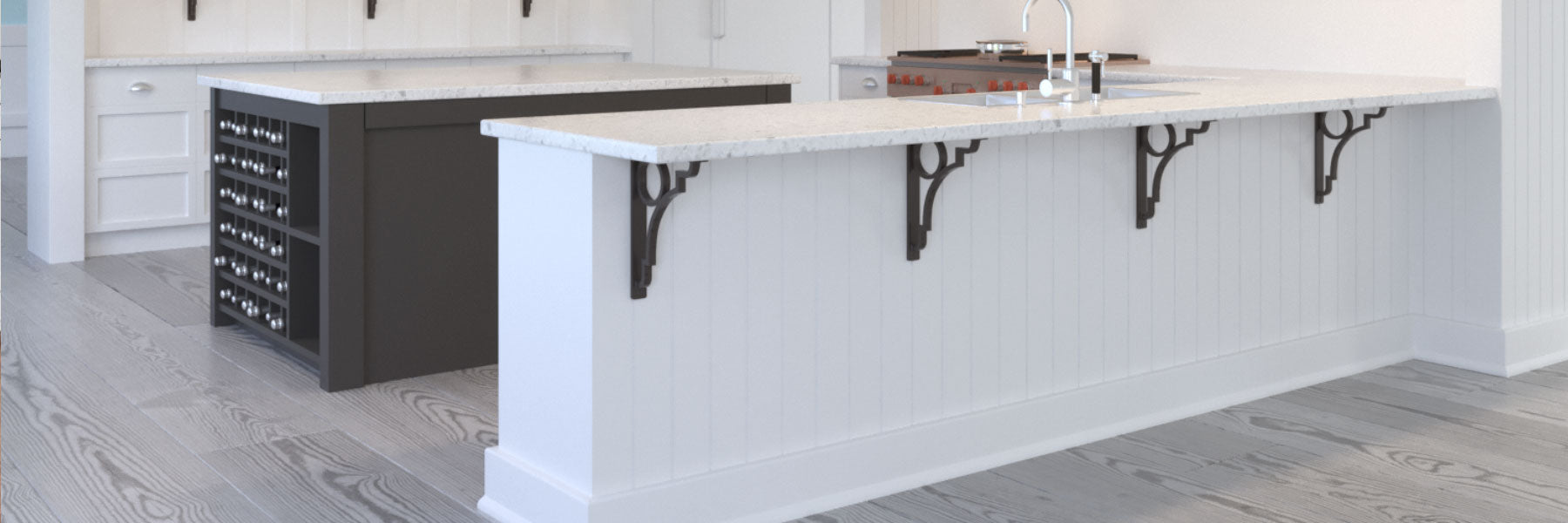 Shop - Iron Countertop Corbels Here