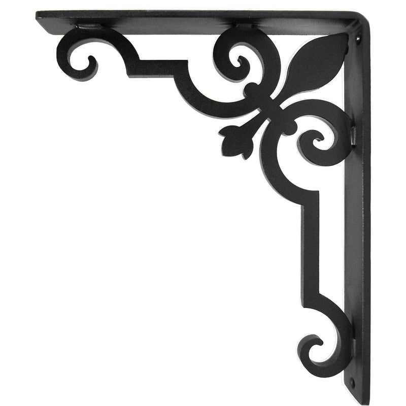 Charlotte Iron Countertop Corbel (single center brace)