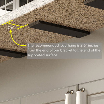 Copy of Floating Countertop Wall Bracket