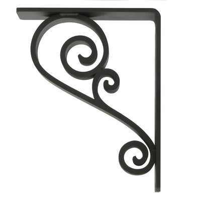 Classic Scroll Iron Corbel 1.5-Inch Wide