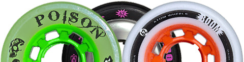 Atom Skates 62mm quad wheels