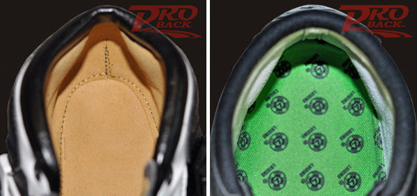 ProBack skate boot technology exclusively by Atom Skates