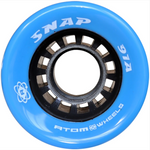 Atom Snap 91a quad roller skate wheels in Blue