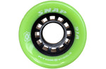 Atom Snap quad wheel 91A in bright green color
