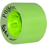 Atom Poison 62x44 green quad wheel