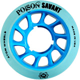 Blue Atom Poison Savant Quad Derby wheels