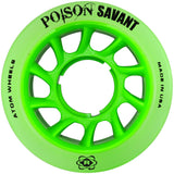 Green Atom Poison Savant Quad Wheel
