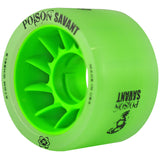 Green Atom Poison Savant Quad Derby wheels