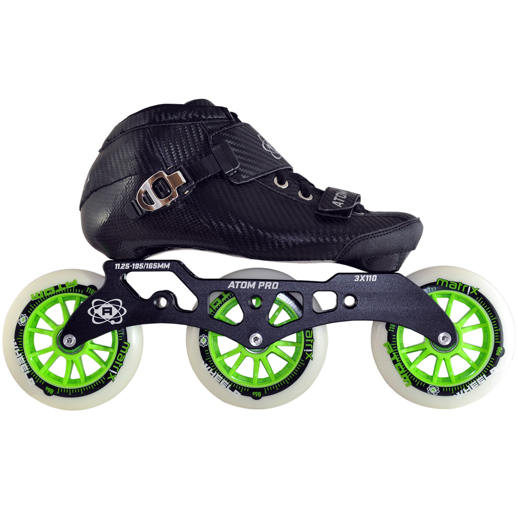 Atom Pro 3 Wheel Inline Skate Package