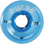 Atom Pulse blue quad outdoor wheel