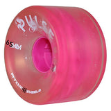 Pink Atom Pulse outdoor quad skate wheel