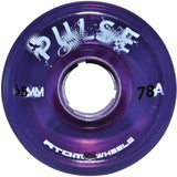 Atom Purple Pulse outdoor quad wheel available @ Atom Skates