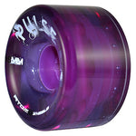 Purple Atom Pulse outdoor quad skate wheel