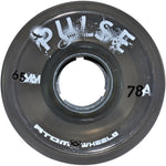 Smoke gray Atom Pulse outdoor quad skate wheel