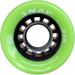 Atom Snap Quad Wheel green 91A