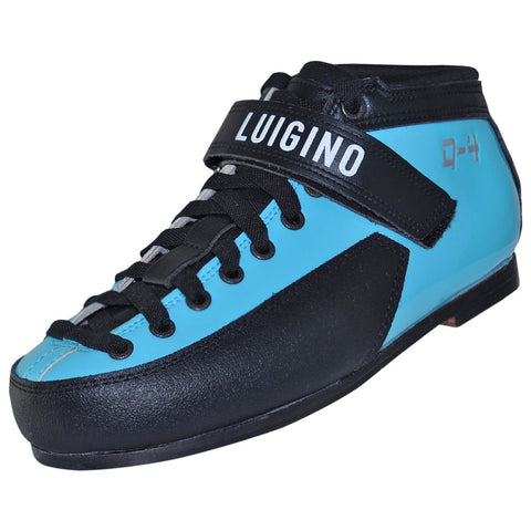 Blue Luigino Q4 Quad Skate Boot available @ Atom Skates