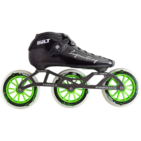 Luigino Bolt 125 Inline Skate Package