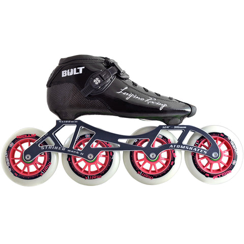 Luigino Bolt Outdoor Inline Skate Package