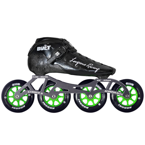 Luigino Bolt Indoor Inline Skate Package