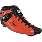 Orange Gloss custom color Luigino Bolt inline skate boot