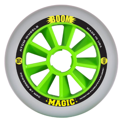 Atom  Boom 90 Firm inline wheels