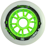 Atom Matrix 100mm inline skate wheels
