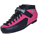 Pink Luigino Q4 Quad Skate Boot available @ Atom Skates