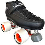 Luigino Q4 Indoor Quad Skate Package with Atom Boom 62x44 wheels