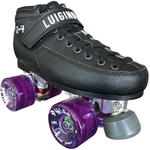 Luigino Q4 Viper Outdoor Quad Roller Skate Package with Atom Pulse Wheels