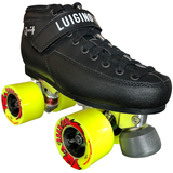 luigino q4 outdoor quad roller skate package with atom road hog wheels