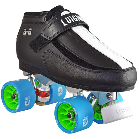 Luigino Q6 Falcon Quad Skate Package available @ Atom Skates