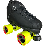 Jackson Rave Outdoor Quad Roller Skate Package with Atom Road Hog Wheels