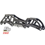 Striker Mark II Convertible inline racing frames by EO Frames available @ Atom Skates