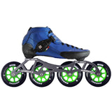 Blue Luigino Strut Indoor inline skate package available @ Atom Skates