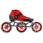 Luigino Strut 125 Red Inline Skate Package