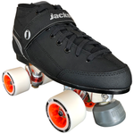 Jackson Supreme Falcon Derby Quad Skate package with Atom Boom 59x38 Wheels