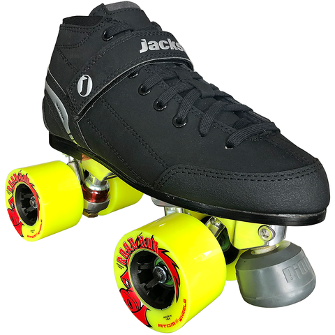 Jackson Supreme Falcon Outdoor Quad Roller Skate Package with Atom Road Hog Wheels