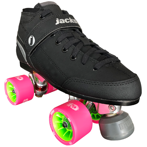 Jackson Supreme Falcon Derby Quad Skate Package with Atom Savant 59x38 Wheels