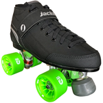 jackson supreme falcon indoor quad skate package with Atom Savant 62x40 quad wheels