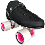 Jackson Supreme No-Toe-Stop Falcon Quad Speed Skate Package with Atom Boom 62x44 Wheels