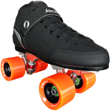 Jackson Supreme NTS (No-Toe-Stop) Falcon Quad Speed Skate Package with Atom Snap Wheels