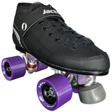 Jackson Supreme Indoor Rink Quad Roller Skate package with Atom Snap wheels