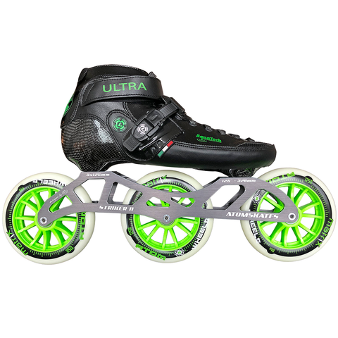 Luigino Ultra 125 Outdoor Inline Skate Package