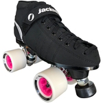 Jackson VIP Indoor Rink Quad Roller Skate package with Atom Boom 62x44 Wheels