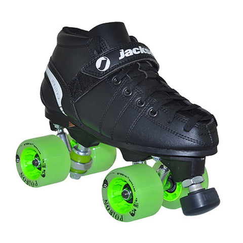 Jackson VIP Derby quad skate package featuring Atom Poison wheels available @ Atom Skates
