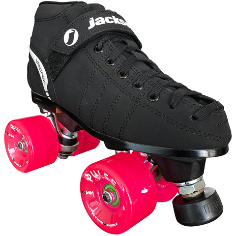 Jackson VIP Outdoor Roller Skate Package with Atom Pulse Wheels