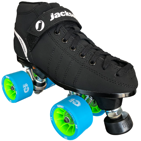Jackson VIP Derby Quad Roller Skate with Atom Savant Wheels