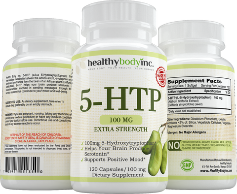 5-HTP 100 mg Extra Strength