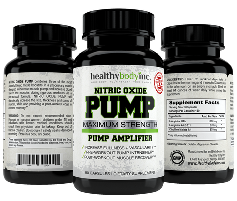 Nitric Oxide Pump Amplifier 90 Capsules