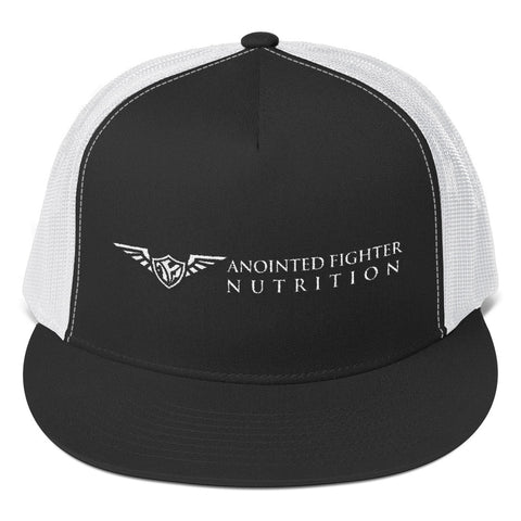 AFN White Logo Snap Back
